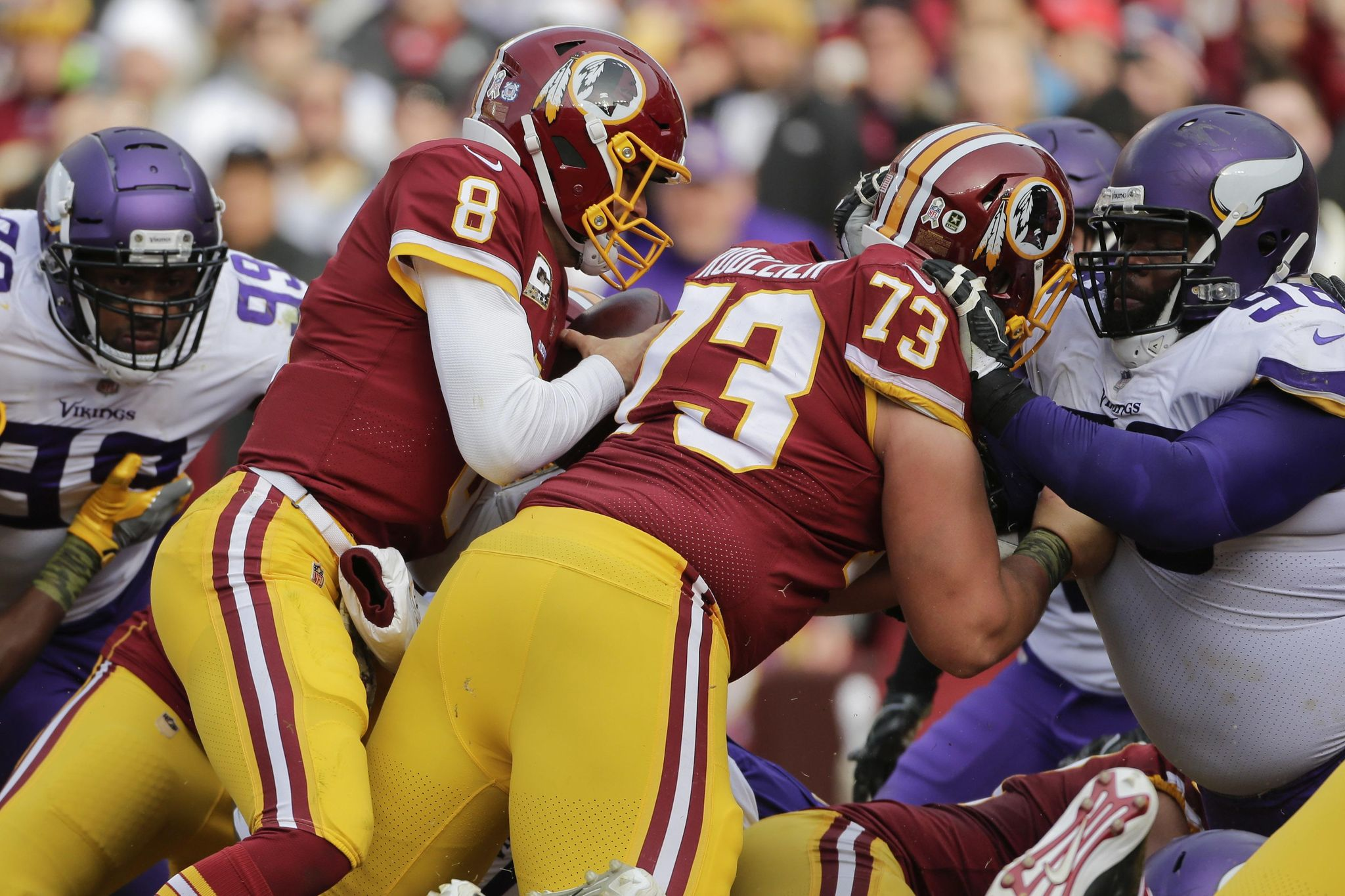 7b0cfd393 Kirk Cousins to the Vikings  Not so fast