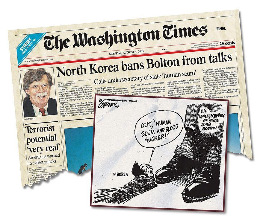 John Bolton Speech to North Korea in 2003.