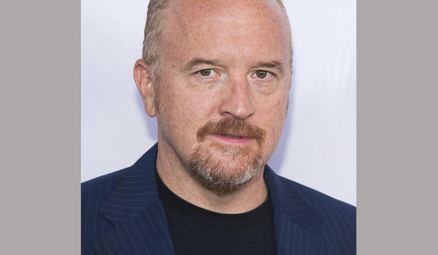 "FILE - In this June 25, 2016 file photo, Louis C.K. attends the premiere of ""The Secret Life of Pets"" in New York. Louis C.K.'s longtime manager is apologizing for not taking complaints about his client's sexual misconduct more seriously. Dave Becky says in a lengthy statement Monday that he misunderstood the nature of the allegations by a female comedy duo in 2002. (Photo by Charles Sykes/Invision/AP, File)"