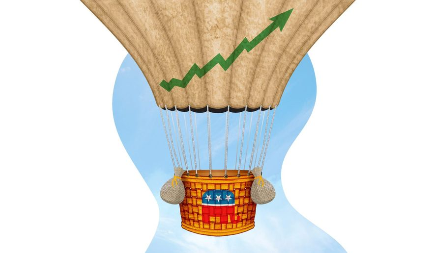 Democrats Miss the Tax Cut Ride Illustration by Greg Groesch/The Washington Times