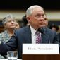 Attorney General Jeff Sessions admitted Tuesday that he knew of Russian officials' attempts to reach out to the Trump campaign, but says that he did not in fact perjure himself despite earlier failing to disclose to Congress that he was aware of such efforts. (Associated Press)