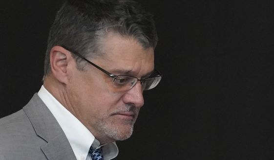 Fusion GPS co-founder Glenn Simpson decided last week to invoke the Fifth Amendment rather than testify under subpoena before a special House Republican task force that is collecting evidence to show an extensive, election year, anti-Trump conspiracy. (Associated Press/File)