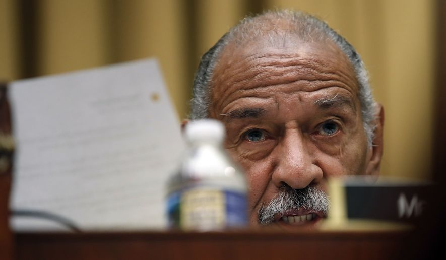 The 88-year-old John Conyers is the top Democrat on the House Judiciary Committee and the longest-serving current member of the House. (AP Photo/Carolyn Kaster)