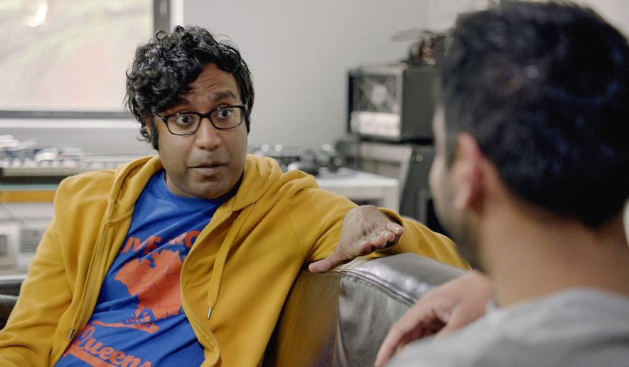 "This image released by truTV shows Hari Kondabolu, a comedian who stars in the documentary, ""The Problem with Apu,"" airing on truTV on Nov. 19. (truTV via AP)"