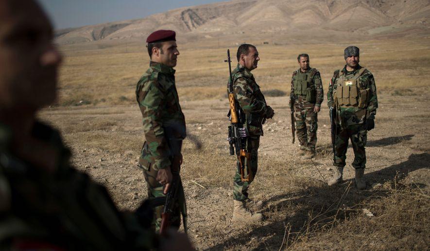 Bayan Sami Abdul Rahman, Kurdish delegate, urges U S  to push Iraq