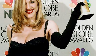 "Madonna was a leading presence during the emergence of MTV in the 1980s, she is known for pushing the boundaries of lyrical content in mainstream popular music, as well as visual imagery in music videos and on stage. She has also frequently reinvented both her music and image while maintaining autonomy within the recording industry. Besides sparking controversy, her works have been praised by music critics. Referred to as the ""Queen of Pop"", Madonna is often cited as an influence by other artists. Madonna's popularity was further enhanced by her roles in films such as Desperately Seeking Susan, Dick Tracy, A League of Their Own, and Evita which earned her a Golden Globe Award for Best Actress."