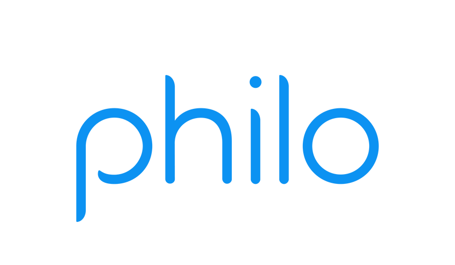 The logo for Philo, a video-streaming service. (Philo)