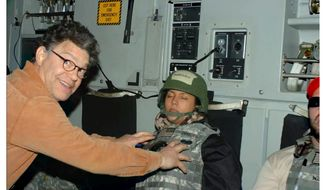 Al Franken and Leeanne Tweeden
