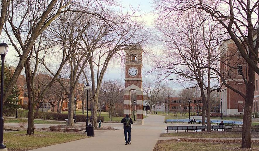 Hoeschler Tower at University of Wisconsin-La Crosse. (Wikipedia)