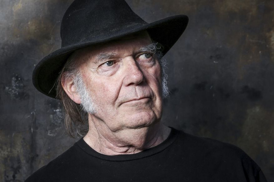 In this May 18, 2016, file photo, Neil Young poses for a portrait in Calabasas, Calif. (Photo by Rich Fury/Invision/AP, File)