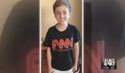 """A Georgia county commissioner and her school board member husband are crying foul after their seventh-grade son was ordered to change out of his """"FNN - Fake News Network"""" T-shirt before going on a school field trip to CNN's Atlanta headquarters. (WGCL)"""