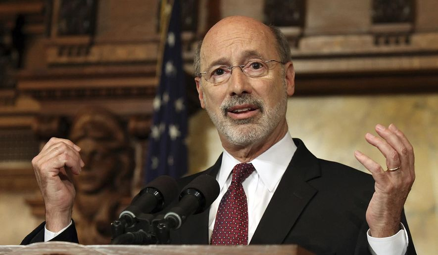 Pennsylvania Gov. Tom Wolf (Associated Press) **FILE**