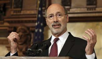Pennsylvania Gov. Tom Wolf (Associated Press) **FILE**