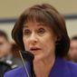 "Former IRS executive Lois G. Lerner has told a federal court that members of her family, including ""young children,"" face death threats if her deposition is released to the public. (Associated Press/File)"