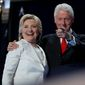 Hillary and Bill Clinton. (Associated Press) ** FILE **