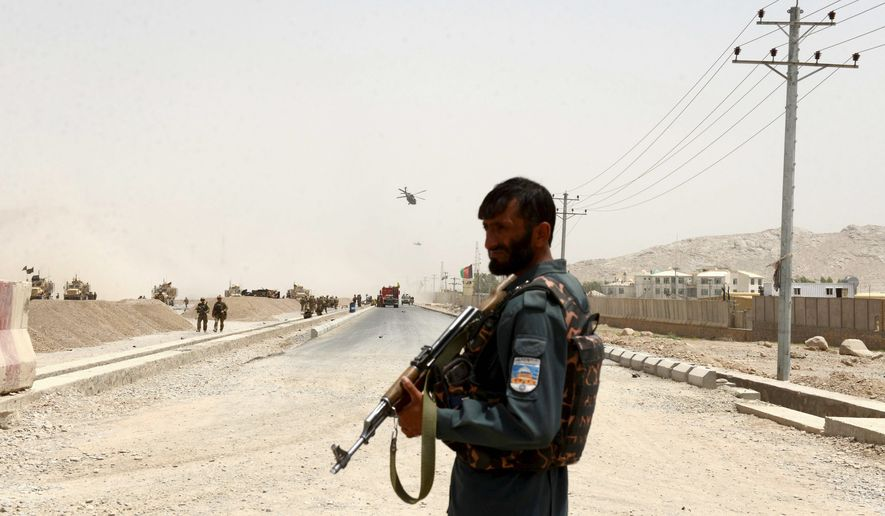 The combat situation in Afghanistan remains a stalemate, with the central government in Kabul not ceding any territory to the Taliban while not making any significant gains against the terrorist group over the past year. (Associated Press)