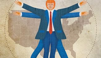 Trump Trade Policies Illustration by Greg Groesch/The Washington Times