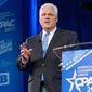 """The American Conservative Union Foundation chairman Matt Schlapp, seen at CPAC 2017, will host """"Asian CPAC"""" in Tokyo next month. The conference will include discussions on economic and military security. (The Washington Times) ** FILE **"""