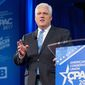 "The American Conservative Union Foundation chairman Matt Schlapp, seen at CPAC 2017, will host ""Asian CPAC"" in Tokyo next month. The conference will include discussions on economic and military security. (The Washington Times) ** FILE **"