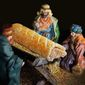 The U.K. bakery chain Greggs used its 2017 Christmas promotional calendar to portray Jesus Christ as a sausage roll. (Image: Greggs promo calendar via The Northern Echo)