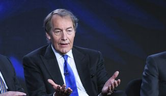 "Charlie Rose participates in the ""CBS This Morning"" panel at the CBS 2016 Winter TCA in Pasadena, California, Jan. 12, 2016. The Washington Post says eight women have accused television host Charlie Rose of multiple unwanted sexual advances and inappropriate behavior. CBS News suspended Charlie Rose and PBS is to halt production and distribution of a show following the sexual harassment report. (Photo by Richard Shotwell/Invision/AP) ** FILE **"