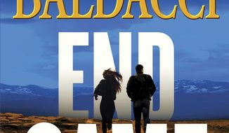"This cover image released by Grand Central shows ""End Game,"" by David Baldacci. (Grand Central via AP)"