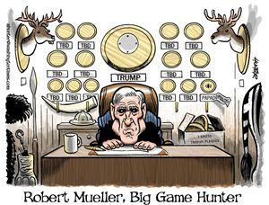 Robert Mueller, Big Game Hunter