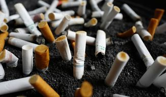 Decades after they were banned from the airwaves, Big Tobacco companies are returning to prime-time television, but not by choice. (Associated Press/File)