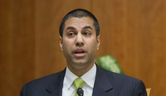 """Under my proposal, the federal government will stop micromanaging the internet,"" said Federal Communication Commission Commissioner Ajit Pai. (Associated Press/File)"