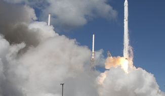 A SpaceX Falcon 9 rocket (Photo: Associated Press)