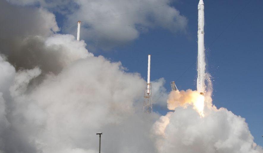 A SpaceX Falcon 9 rocket (Photo: Associated Press)
