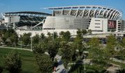 Hamilton County residents overwhelmingly voted for a half-percent sales tax increase and municipal bonds to pay for Paul Brown Stadium to keep the Bengals from leaving Cincinnati, but the deal hasn't been good for taxpayers. (Associated Press/File)