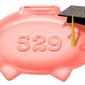 Illustration on 529 savings accounts by Alexander Hunter/The Washington Times