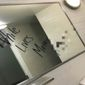 School officials said a non-white student confessed this week to scrawling a racist message on a girls' bathroom mirror at Parkway Central High School in Chesterfield, Missouri, on Nov. 15. (KPLR 11)