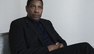 "This Nov. 20, 2017 photo shows actor Denzel Washington posing for a portrait in New York to promote his latest film, ""Roman J. Israel, Esq.""  (Photo by Taylor Jewell/Invision/AP)"