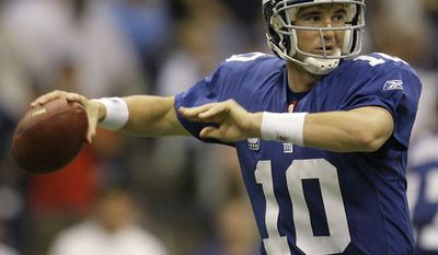 5. Eli Manning - 2007  New York Giants