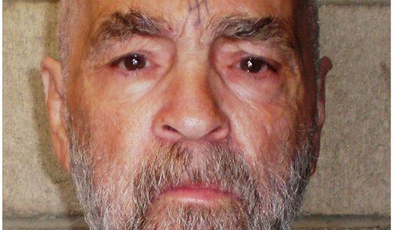 Charles Manson. (Associated Press)