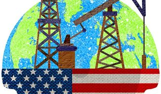 American Energy Powerhouse Illustration by Greg Groesch/The Washington Times