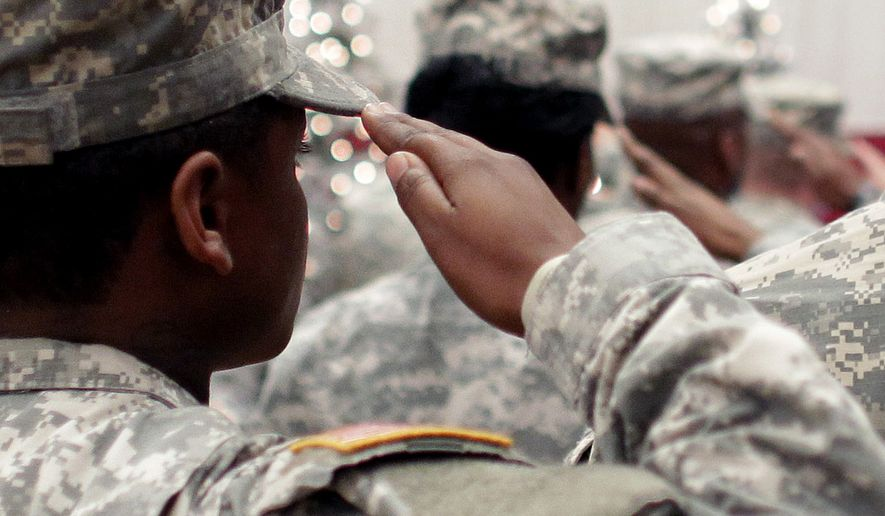 The education of more than 10,000 veterans and active-duty military students could be disrupted if the Department of Veterans Affairs suspends Ashford University's eligibility for GI Bill tuition payments and approval of student enrollments and re-enrollments by early January. (Associated Press/File)