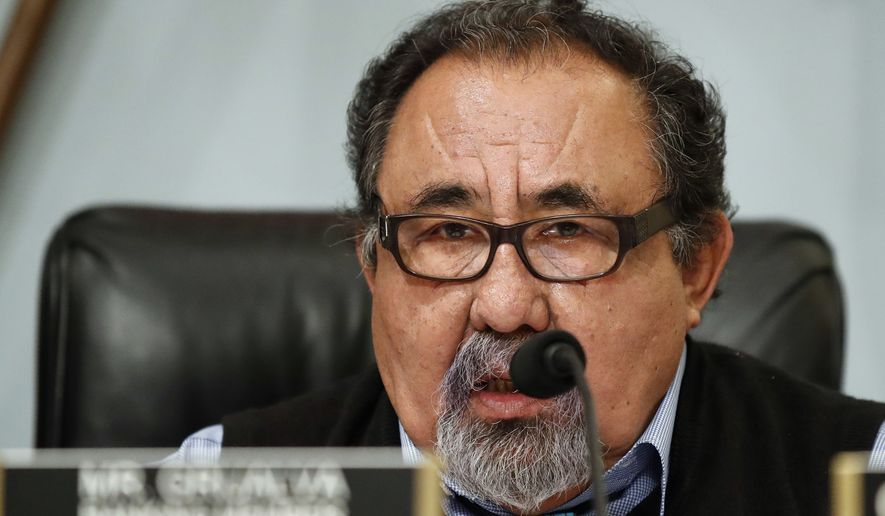 Rep. Raul Grijalva, Arizona Democrat, told The Washington Times that the pay to a former female staffer was a severance package and that the agreement was reached without a complaint lodged with the Office of Compliance, which handles workplace grievances by congressional employees.