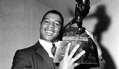 Ernie Davis, the first African-American to win the Heisman Trophy was diagnosed with acute monocytic leukemia at the age of 22 and died May 18, 1963 at the age of 23.