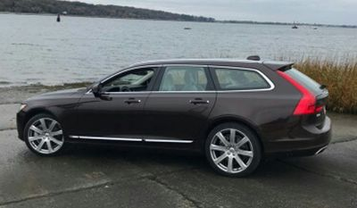 For those of you with memories of the station wagon who might still be longing for just such a vehicle, the 2018 Volvo V90 is going to make you very happy. (Photo by Vincenzo Maggio).