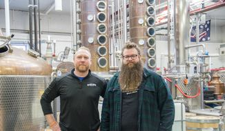 Matt and Mike Blaum.  (Midwest Wanderer)