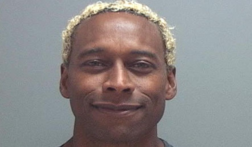 """FILE - This undated file photo provided by the Salt Lake County, Utah,  Jail shows Anthony D. McClanahan. Prosecutors say the former professional football player sliced his wife's neck and then crawled on the ground outside their rented Utah condominium before flagging down a police officer. Murder charges filed Monday, Nov. 27, 2017, against McClanahan say the bloody Nov. 2 scene in Park City, Utah, indicated his 28-year-old wife Keri """"KC"""" McClanahan put up a desperate struggle. (Salt Lake County Jail via AP, file)"""