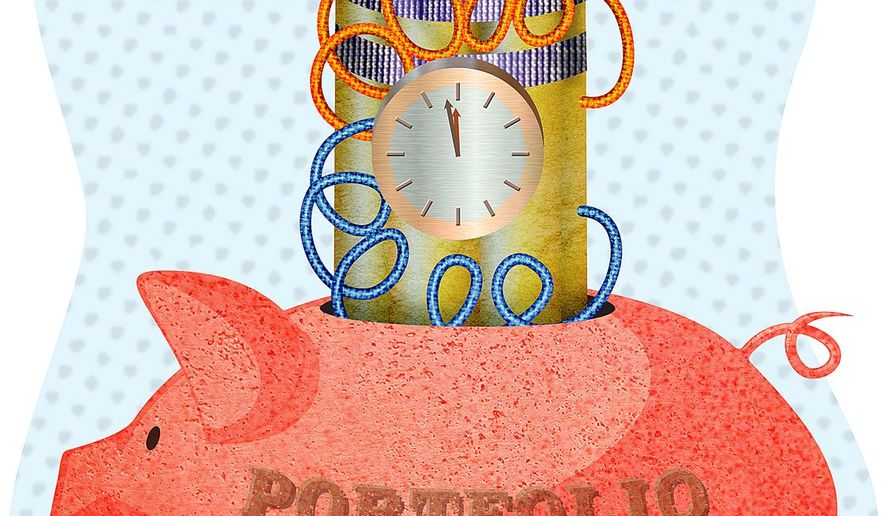 Portfolio Timebomb Illustration by Greg Groesch/The Washington Times