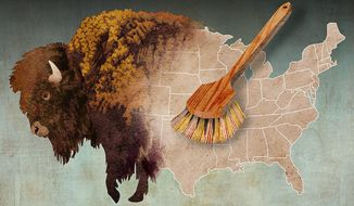 Cleaning Up the Department of the Interior Illustration by Greg Groesch/The Washington Times