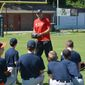 Former Washington Nationals pitcher Craig Stammen instructed kids at a recent Catholic Athletes for Christ summer camp. Photo courtesy of Catholic Athletes for Christ.
