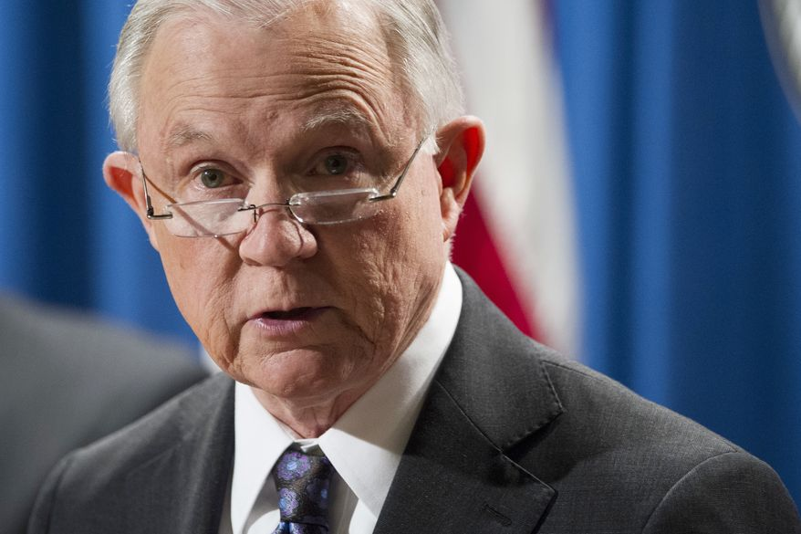 """When jurisdictions choose to return criminal aliens to the streets rather than turning them over to federal immigration authorities, they put the public's safety at risk,"" Attorney General Jeff Sessions said. ""San Francisco's decision to protect criminal aliens led to the preventable and heartbreaking death of Kate Steinle."" (AP Photo/Cliff Owen)"