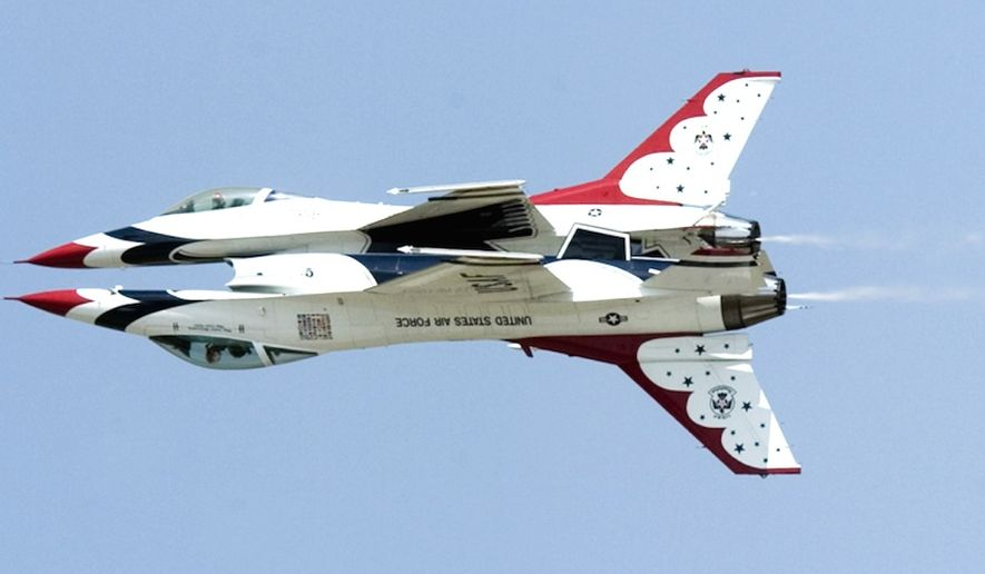 "The U.S. Air Force relieved the commander of its iconic Thunderbirds aerial demonstration team on Nov. 20, 2017, due to ""lost confidence."" (Image: U.S. Air Force)"