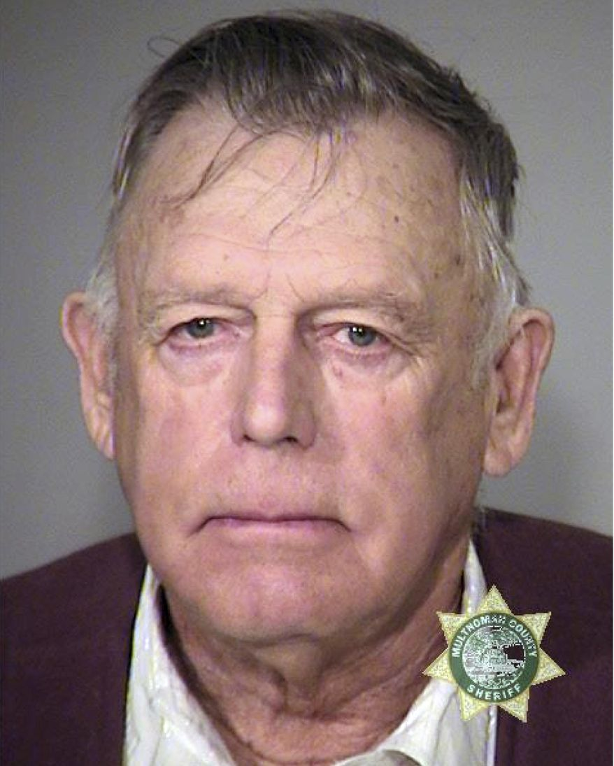FILE - This Wednesday, Feb. 10, 2016 booking file photo provided by the Multnomah County, Ore., Sheriff''s office shows Cliven Bundy. Bundy, a Nevada rancher and states' rights figure refused a federal judge's offer to be free on house arrest during his trial with two sons on charges in an armed standoff with government agents that stopped a cattle round-up in 2014. Bundy, 71, declined Wednesday, Nov. 29, 2017, to be freed while others are still in jail awaiting trial in the case.  (Multnomah County, Ore., Sheriff''s office via AP, File)